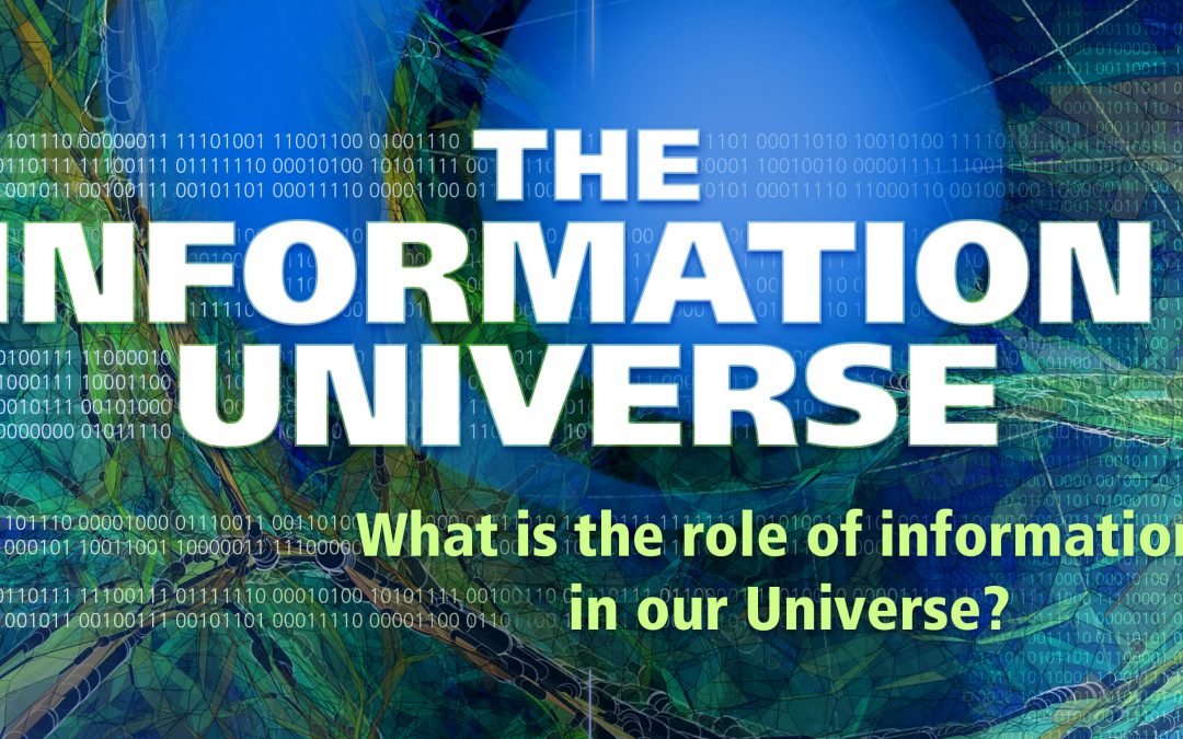 Peter Sloot at The Second Information Universe conference