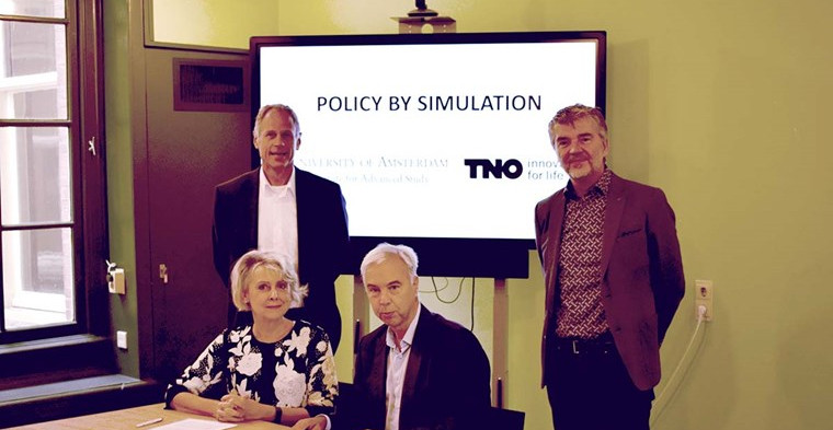 Partnership between UvA IAS and TNO to get a grip on complexity
